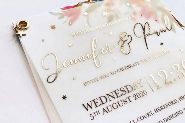 Wedding Invitation Stationery