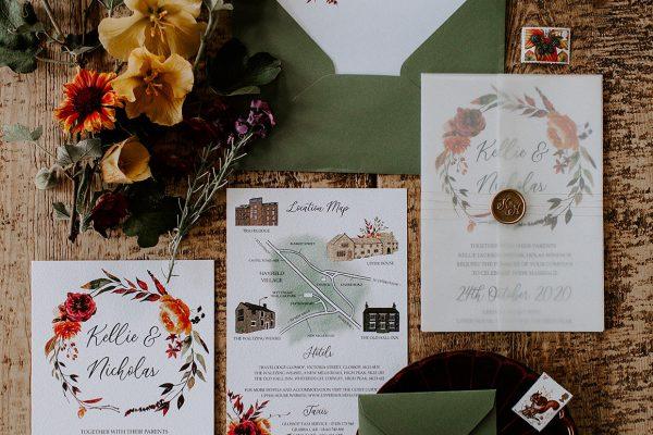 kellie and nick bespoke wedding stationery pinterest instagram mama inc