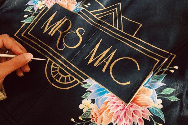 mrs mac mama inc painted jacket