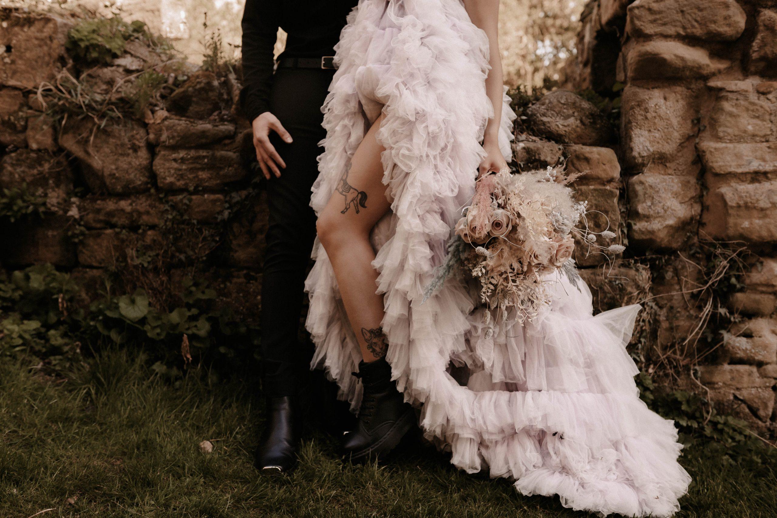Celestial Tarot Wedding Stationery